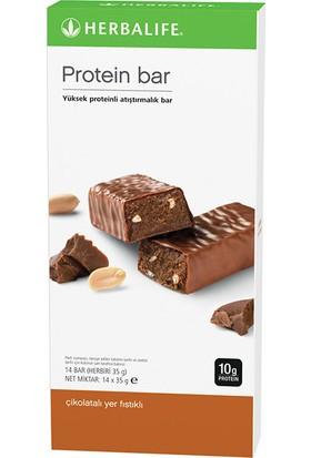 Herbalife Protein Bar Çikolatalı Yer Fıstıklı 14'lü paket