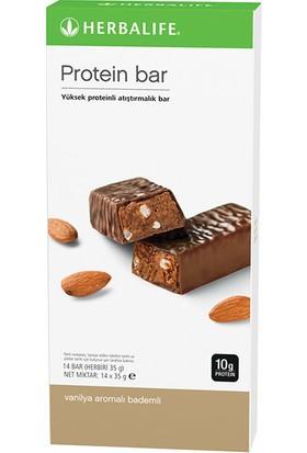 Herbalife Protein Bar Vanilya Aromalı Bademli 14'lü paket