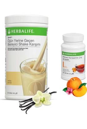 Herbalife Vanilya Shake - Şeftali Çay 50 gr