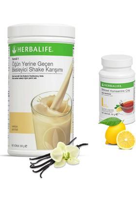 Herbalife Vanilya Shake - Limon Çay 50 gr