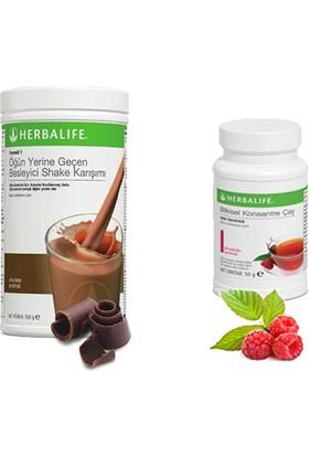 Herbalife Çikolata Shake -Ahududu Çay 50 gr