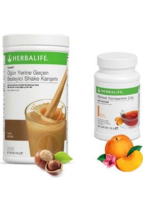 Herbalife Fındık Shake - Şeftali Çay 50 gr