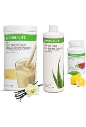 Herbalife Vanilya Shake - Limon Çay 50 gr - Aloe Vera