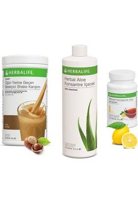 Herbalife Fındık Shake - Limon Çay 50 gr - Aloe Vera