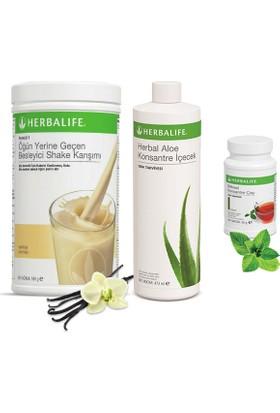Herbalife Vanilya Shake - Klasik Çay 100 gr - Aloe Vera