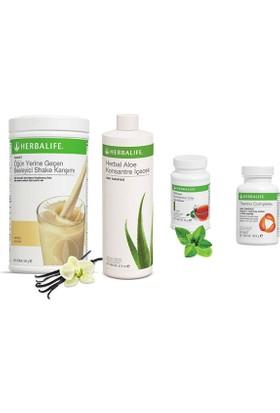 Herbalife Vanilya Shake - Klasik Çay 50 gr - Aloe Vera - Thermo Tablet