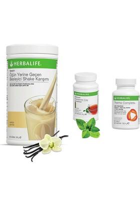 Herbalife Vanilya Shake - Klasik Çay 100 gr - Thermo Tablet