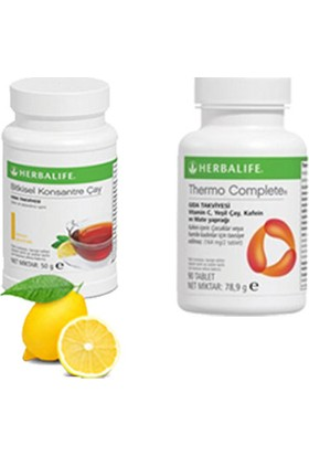 Herbalife Limon Çay 50 gr - Thermo Tablet
