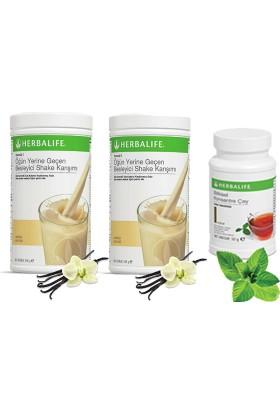 Herbalife 2 Vanilya Shake - Klasik Çay 50 gr