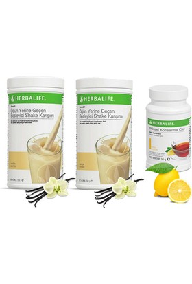 Herbalife 2 Vanilya Shake - Limon Çay 50 gr