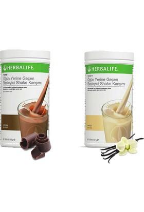 Herbalife Shake Karışımı - 1 Vanilya - 1 Çikolata
