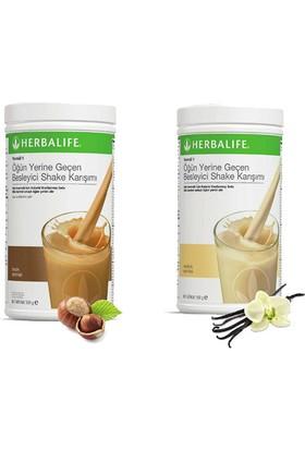 Herbalife Shake Karışımı - 1 Vanilya - 1 Fındık