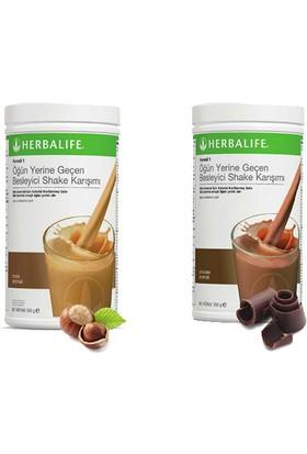 Herbalife Shake Karışımı - 1 Fındık - 1 Çikolata