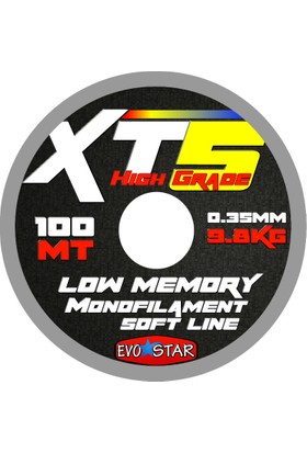 EVOSTAR XT5 Monofilament Olta Misinası 100m 0,10 mm