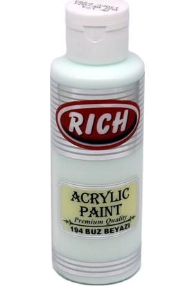Rich Akrilik Boya 194 - Buz Beyazı 130 cc