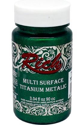 Rich Multi Surface Titanium Metalik Boya 2552 - Yeşil 90 cc