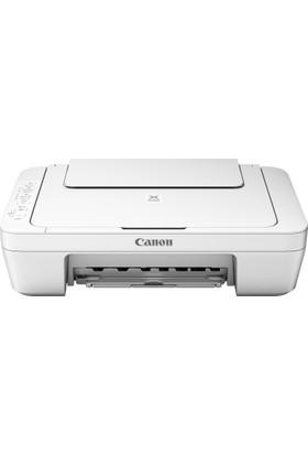 Canon Pixma MG3051WH Wi-Fİ Fotokopi + Tarayıcı + Mürekkep Püskürtmeli Yazıcı