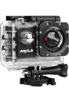 Anytek At200 Aksiyon Kamerası Full Hd 1080P, 2'' Ekran, 170˚ Lens Waterproff(30M) Hdmı Kamera + Dvr