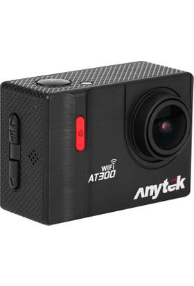 Anytek At300 Aksiyon Kamerası 4K, 2'' Ekran, P2P Wıfı Androıd/Ios - 170˚ Lens Waterproff(30M) Hdmı, Wıfı, Kamera + Dvr