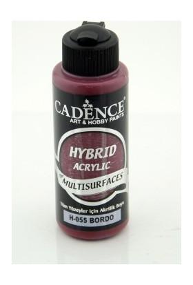 Cadence Multi Surface Hibrit Boya H055 Bordo 120 ml