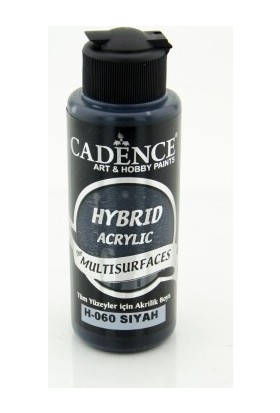 Cadence Multi Surface Hibrit Boya H060 Siyah 120 ml