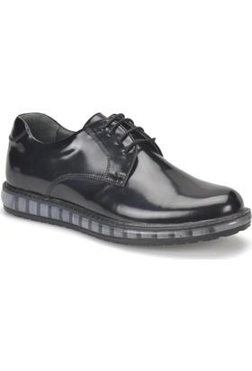 Jj-Stiller 41345-1 Siyah Erkek Ayakkabı
