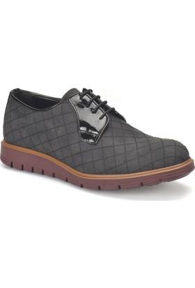 Jj-Stiller 505-Y Siyah Erkek Ayakkabı