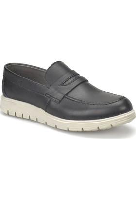 Jj-Stiller 507 Siyah Erkek Ayakkabı