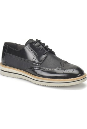 Jj-Stiller 55119-3 Siyah Erkek Ayakkabı