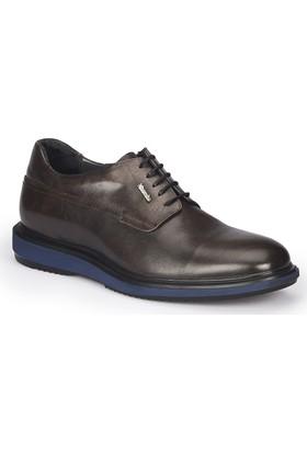 Mercedes Stani Siyah Erkek Deri Ayakkabı
