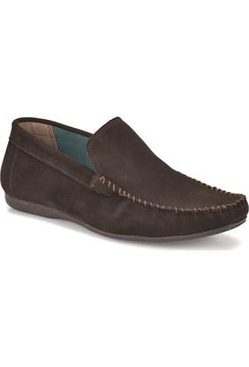 Oxide Bs-2 Kahverengi Erkek Deri Ayakkabı
