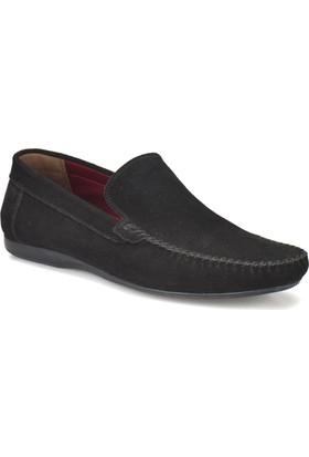 Oxide Bs-2 Siyah Erkek Deri Ayakkabı