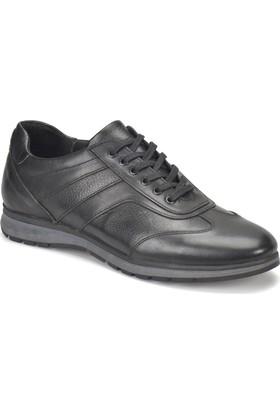 Oxide Kj 1209 Siyah Erkek Deri Ayakkabı