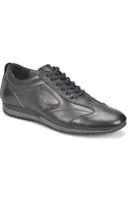 Oxide Kj 1237 Siyah Erkek Deri Ayakkabı