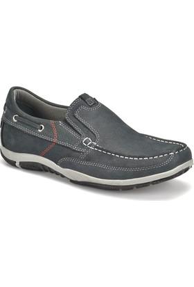 Panama Club 5075-N Lacivert Erkek Deri Ayakkabı