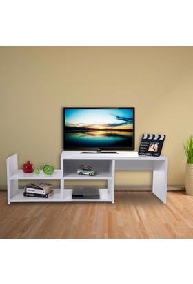 Hepsiburada Home Tv Sehpası - Tv Ünitesi - Beyaz