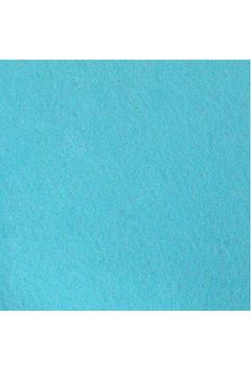 Açık Mavi Sentetik Keçe Kumaş 50cm x 50cm 3mm