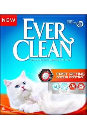 Ever Clean Fast Acting Kedi Kumu 6 Litre