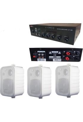 Lastvoice Hoparlör ve Anfi Mağaza Ses Sistemi Soft Paket-2