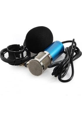 Lastvoice BM800 Blue Condenser Mikrofon + Shock Mount Set