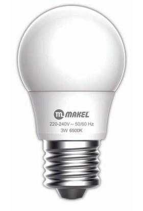MAKEL 3W LED AMPUL 6500K MAKEL E27 BEYAZ IŞIK