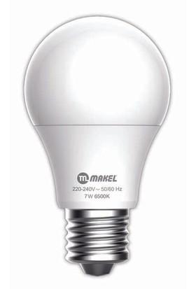 MAKEL 7W LED AMPUL 6500K MAKEL BEYAZ IŞIK