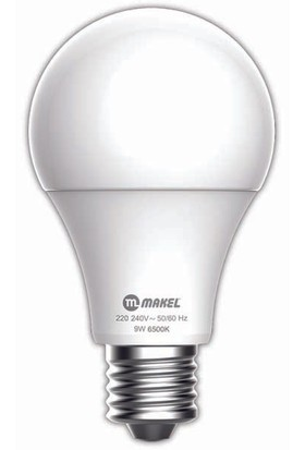 MAKEL 12W LED AMPUL 6500K MAKEL BEYAZ IŞIK