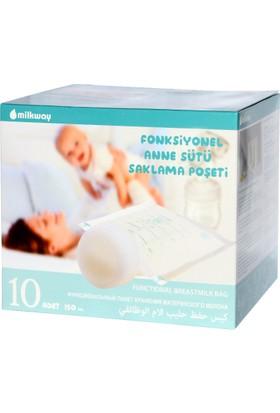 Milkway Fonksiyonel Süt Saklama Poşeti (10'lu)