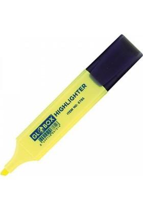 Globox Sarı Fosforlu Kalem