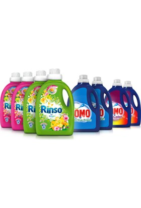 Omo & Rinso 8'li Avantajlı Deterjan Paketi