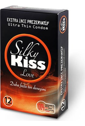 Silky Kiss Love Ekstra İnce 12 Adet İthal Prezervatif