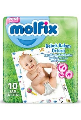 Molfix Bebek Bakım Örtüsü 60 x 60 cm 10 adet