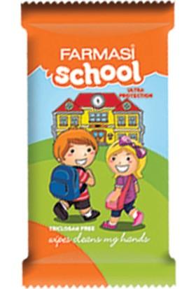Farmasi Okul Cep Islak Mendil 12 Yaprak