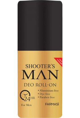 Farmasi Shooter's Man Deo Roll On For Men 50 ml